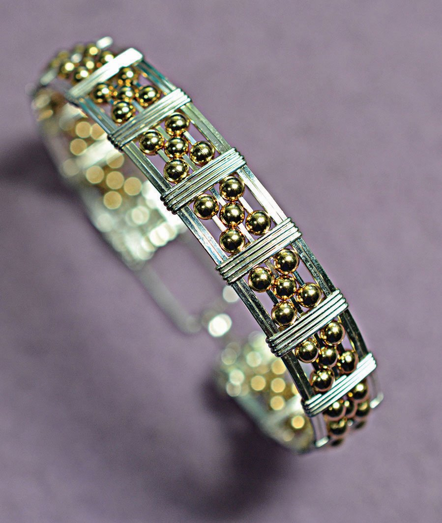 While the more unusual cuts of diamonds have been gathering momentum - This Bracelet Looks More Complicated Than It Really Is You Will Be Using Square Wire And Adding Five Beads At A Time In A Specific Pattern